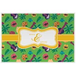 Luau Party Placemat (Laminated) (Personalized)