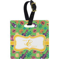 Luau Party Luggage Tags (Personalized)