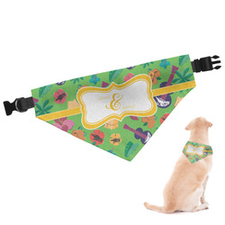 Luau Party Dog Bandana (Personalized)