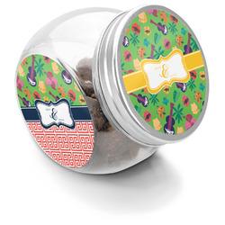 Luau Party Puppy Treat Jar (Personalized)