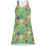 Luau Party Racerback Dress (Personalized)