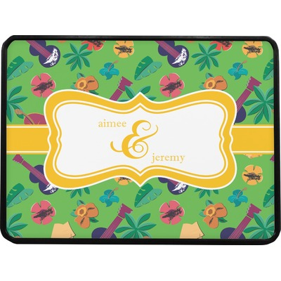 Luau Party Rectangular Trailer Hitch Cover (Personalized)