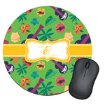 Luau Party Round Mouse Pad (Personalized)