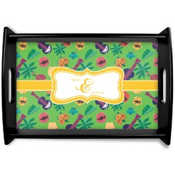 Luau Party Wooden Trays (Personalized)
