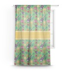 Luau Party Sheer Curtains (Personalized)