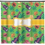 Luau Party Shower Curtain (Personalized)