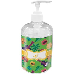 Luau Party Soap / Lotion Dispenser (Personalized)