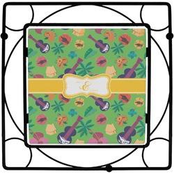 Luau Party Square Trivet (Personalized)