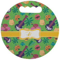 Luau Party Stadium Cushion (Round) (Personalized)