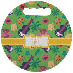 Luau Party Stadium Cushion (Round) (Personalized)