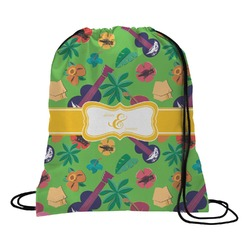 Luau Party Drawstring Backpack (Personalized)