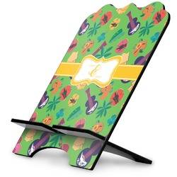 Luau Party Stylized Tablet Stand (Personalized)