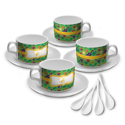Luau Party Tea Cup - Set of 4 (Personalized)