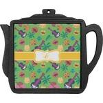 Luau Party Teapot Trivet (Personalized)