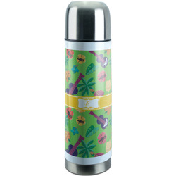Luau Party Stainless Steel Thermos (Personalized)