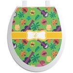 Luau Party Toilet Seat Decal (Personalized)