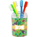 Luau Party Toothbrush Holder (Personalized)