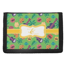 Luau Party Trifold Wallet (Personalized)