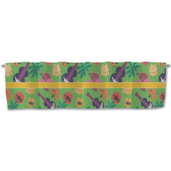 Luau Party Valance (Personalized)