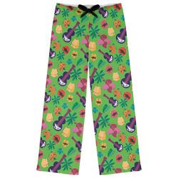 Luau Party Womens Pajama Pants (Personalized)