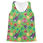Luau Party Womens Racerback Tank Top (Personalized)