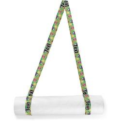 Luau Party Yoga Mat Strap (Personalized)
