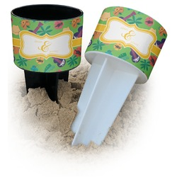 Luau Party Beach Spiker Drink Holder (Personalized)