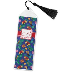 Parrots & Toucans Book Mark w/Tassel (Personalized)