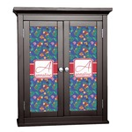 Parrots & Toucans Cabinet Decal - Custom Size (Personalized)