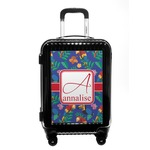 Parrots & Toucans Carry On Hard Shell Suitcase (Personalized)