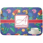 Parrots & Toucans Dish Drying Mat (Personalized)