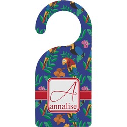 Parrots & Toucans Door Hanger (Personalized)