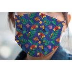 Parrots & Toucans Face Mask Cover (Personalized)