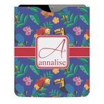 Parrots & Toucans Genuine Leather iPad Sleeve (Personalized)