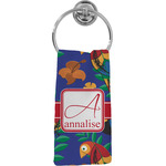 Parrots & Toucans Hand Towel - Full Print (Personalized)