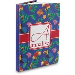 Parrots & Toucans Hardbound Journal (Personalized)