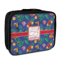 Parrots & Toucans Insulated Lunch Bag (Personalized)