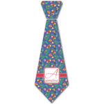 Parrots & Toucans Iron On Tie - 4 Sizes w/ Name and Initial