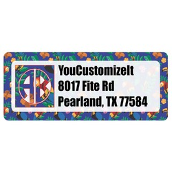 Parrots & Toucans Return Address Labels (Personalized)