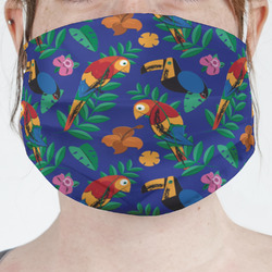 Parrots & Toucans Face Mask Cover (Personalized)