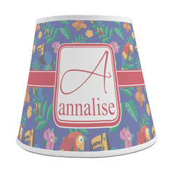 Parrots & Toucans Empire Lamp Shade (Personalized)