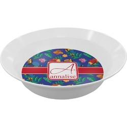 Parrots & Toucans Melamine Bowls (Personalized)