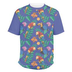 Parrots & Toucans Men's Crew T-Shirt (Personalized)