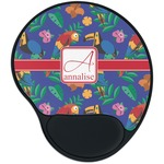 Parrots & Toucans Mouse Pad with Wrist Support
