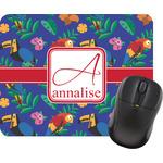 Parrots & Toucans Mouse Pad (Personalized)