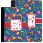 Parrots & Toucans Notebook Padfolio w/ Name and Initial