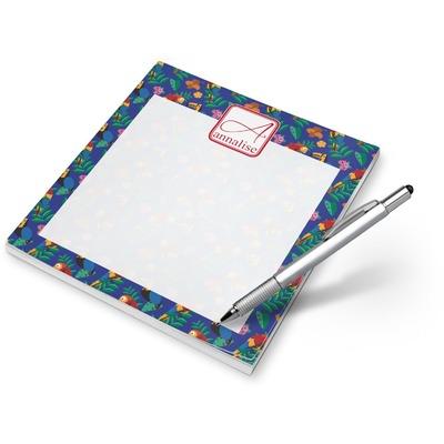 Parrots & Toucans Notepad (Personalized)