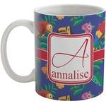 Parrots & Toucans Coffee Mug (Personalized)