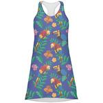 Parrots & Toucans Racerback Dress (Personalized)