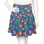 Parrots & Toucans Skater Skirt (Personalized)